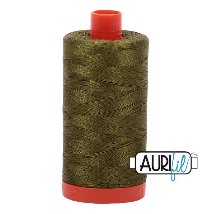 Aurifil #2887 (Very Dark Olive)<br>50 Wt. - 1422 Yds.