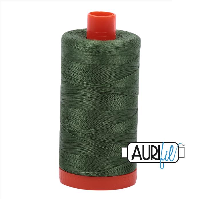 Aurifil #2890 (Very Dark Grass Green)<br>50 Wt. - 1422 Yds.