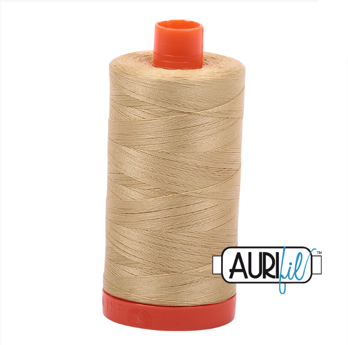 Aurifil #2915 (Very Light Brass)<br>50 Wt. - 1422 Yds.