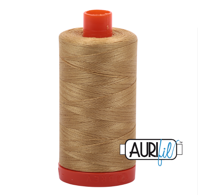 Aurifil #2920 (Light Brass)<br>50 Wt. - 1422 Yds.