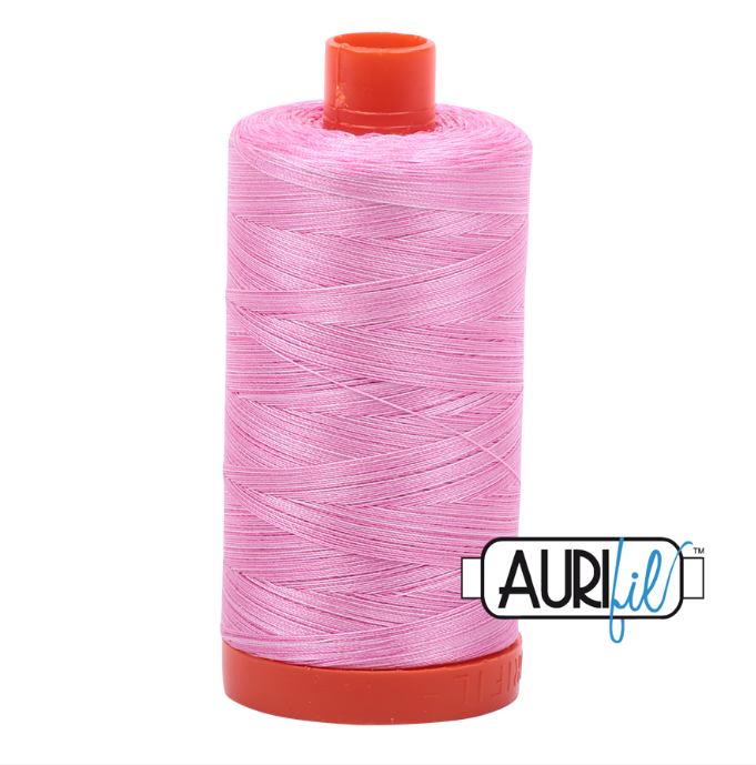 Aurifil #3660 (Variegated - Bubblegum)<br>50 Wt. - 1422 Yds.