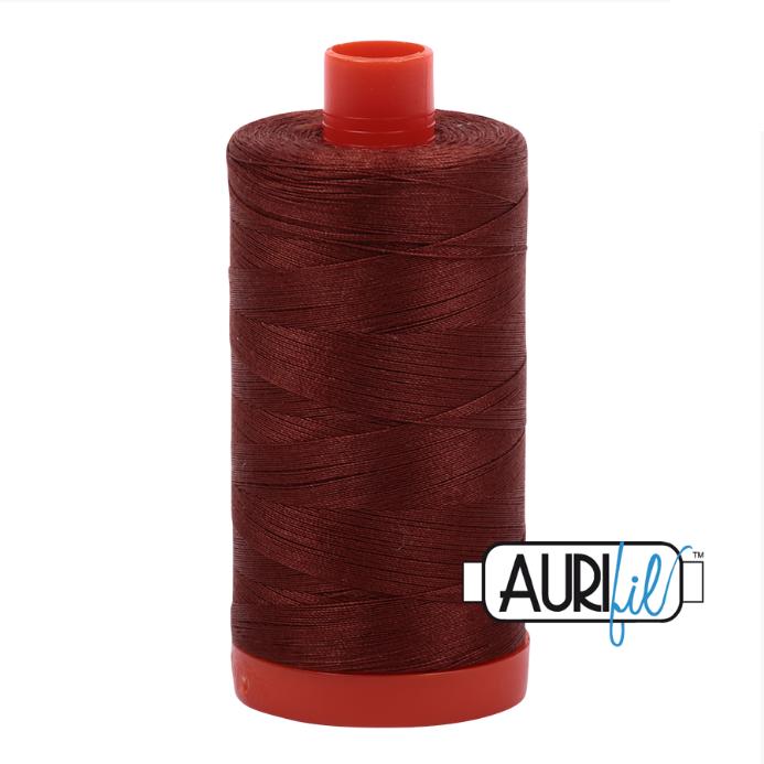 Aurifil #4012 (Copper Brown)<br>50 Wt. - 1422 Yds.