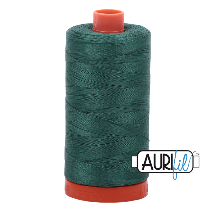 Aurifil #4129 (Turf Green)<br>50 Wt. - 1422 Yds.