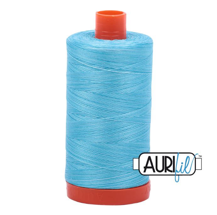 Aurifil #4663 (Variegated - Baby Blue Eyes)<br>50 Wt. - 1422 Yds.