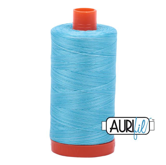Aurifil #4663 (Variegated - Baby Blue Eyes)<br>50 Wt. - 1422 Yds.