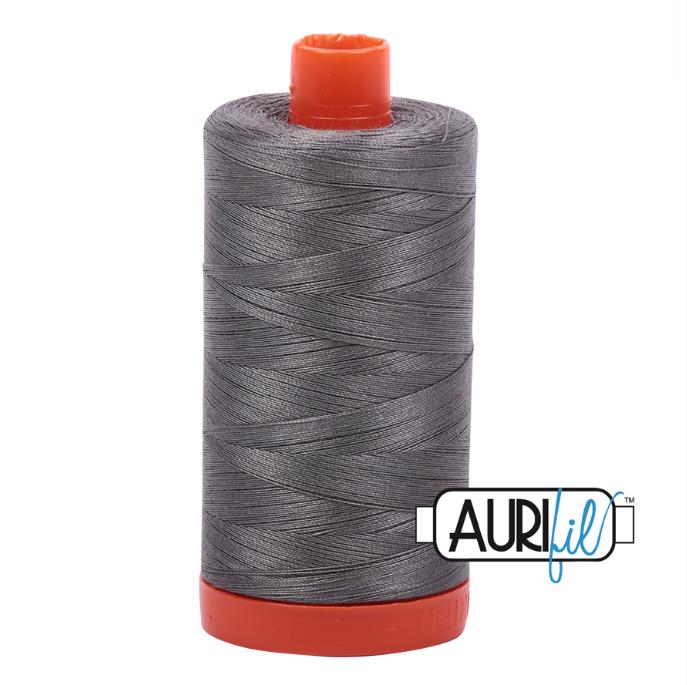 Aurifil #5004 (Grey Smoke)<br>50 Wt. - 1422 Yds.