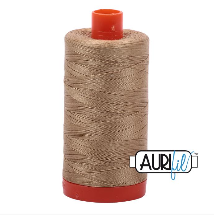 Aurifil #5010 (Blond Beige)<br>50 Wt. - 1422 Yds.