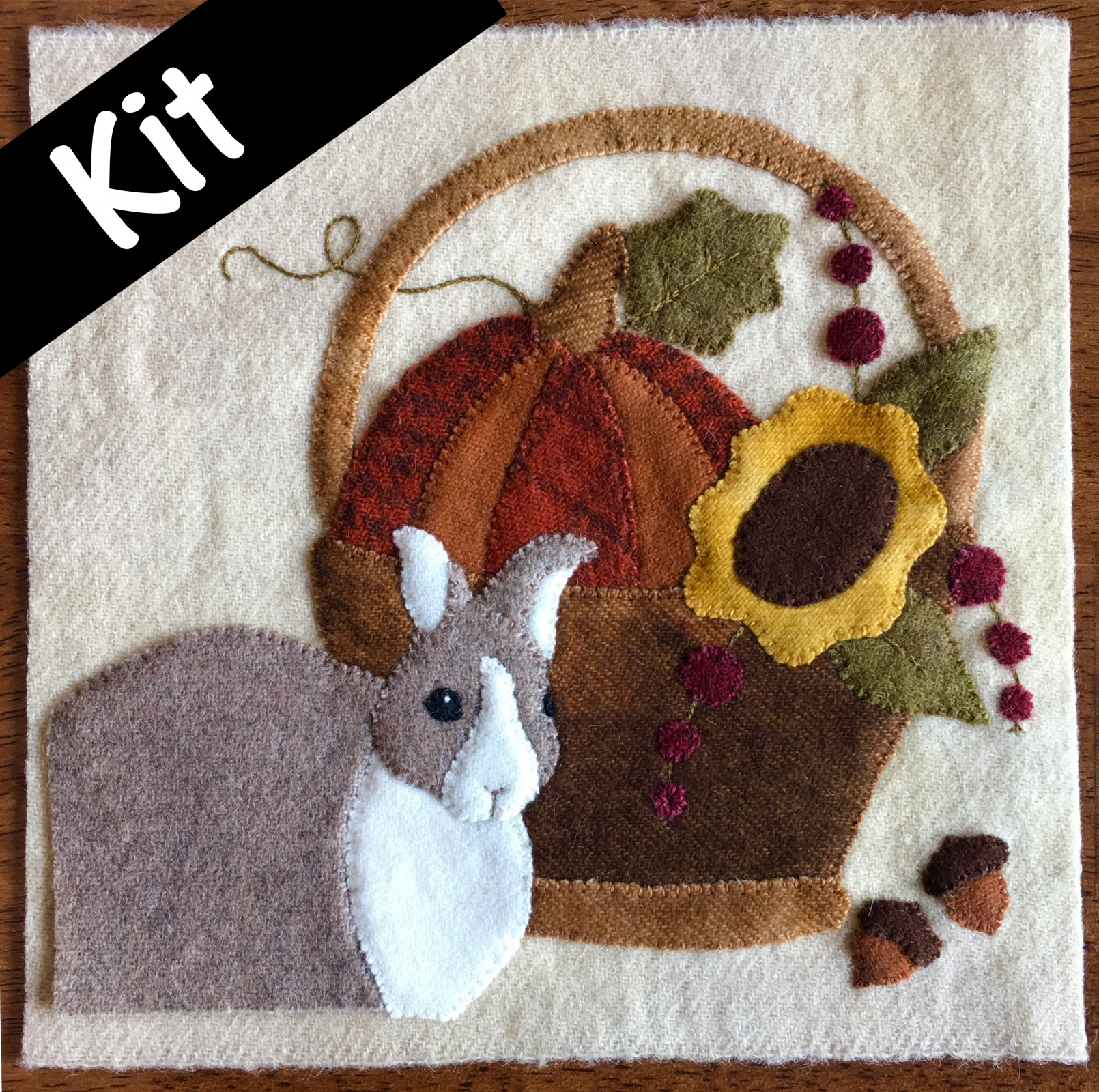 2017 Wooly Block - Wool Kit<br>Includes pattern!