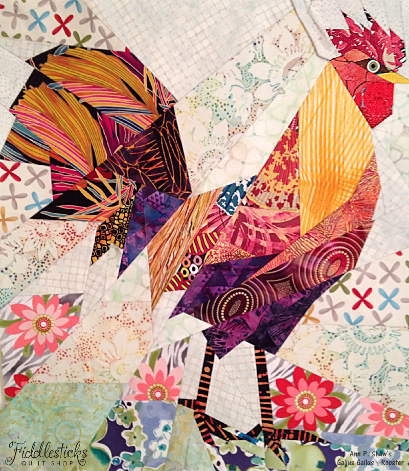 Mary's Rooster - Ann Shaw - Pattern
