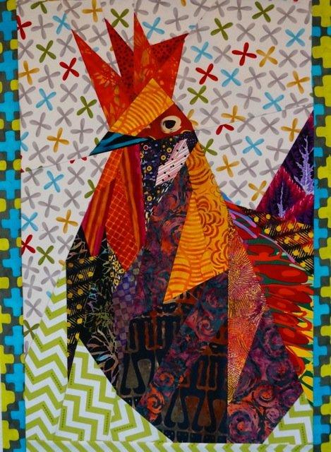 Ruddy Rooster - Ann Shaw - Pattern