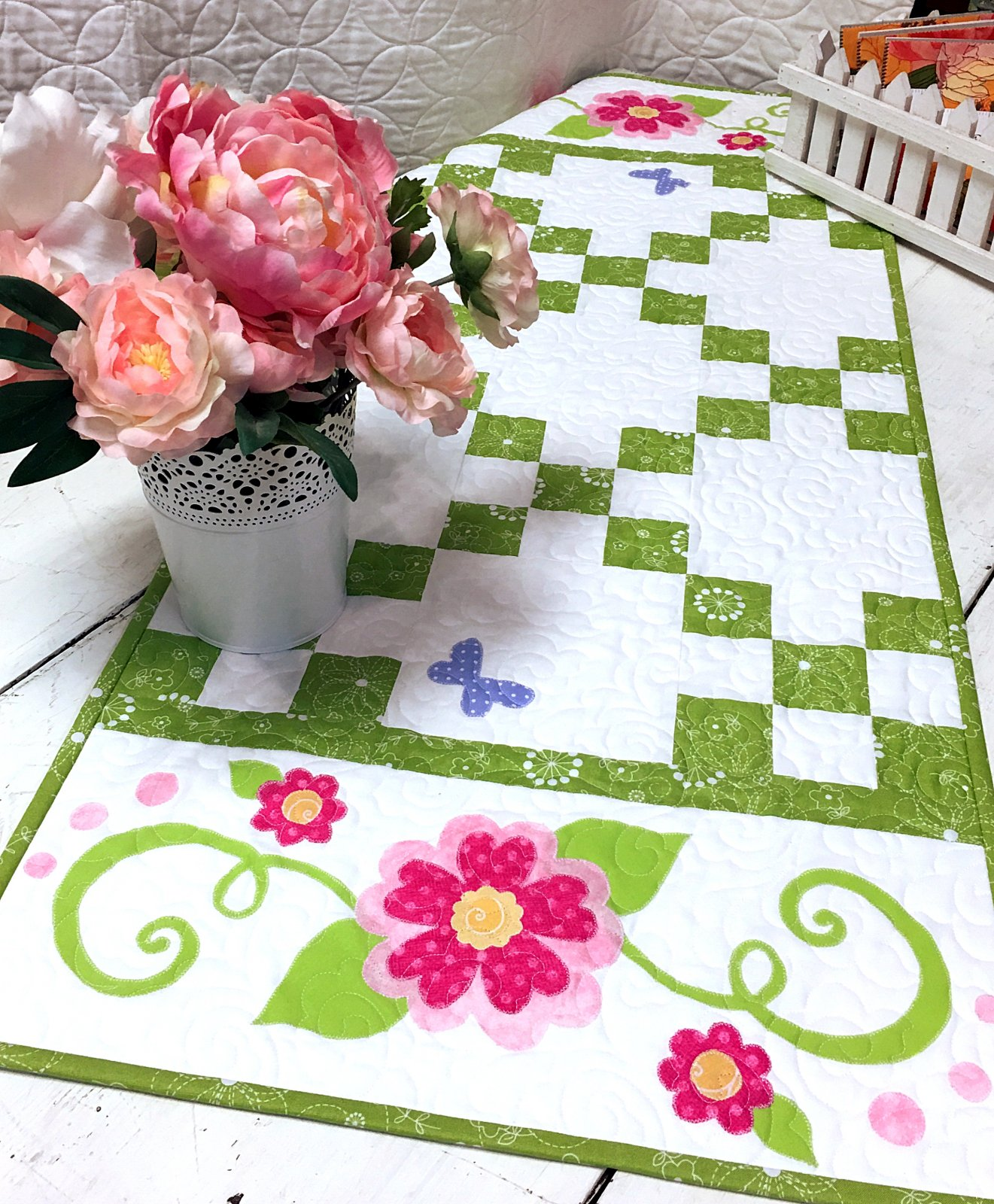 Swirly-Swirl Table Runner - Pattern