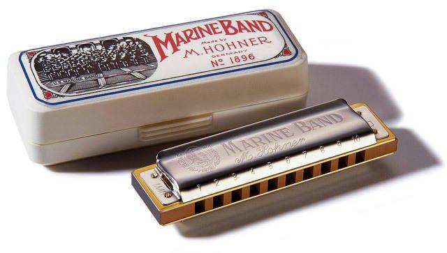 Hohner Marine Band 1896 Harmonica - C