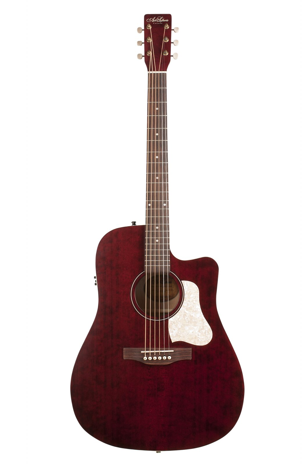 Art & Lutherie Americana Tennessee Red Cutaway with QIT