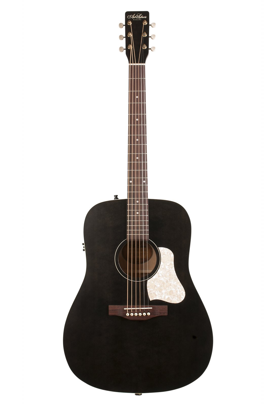 Art & Lutherie Americana Faded Black with QIT