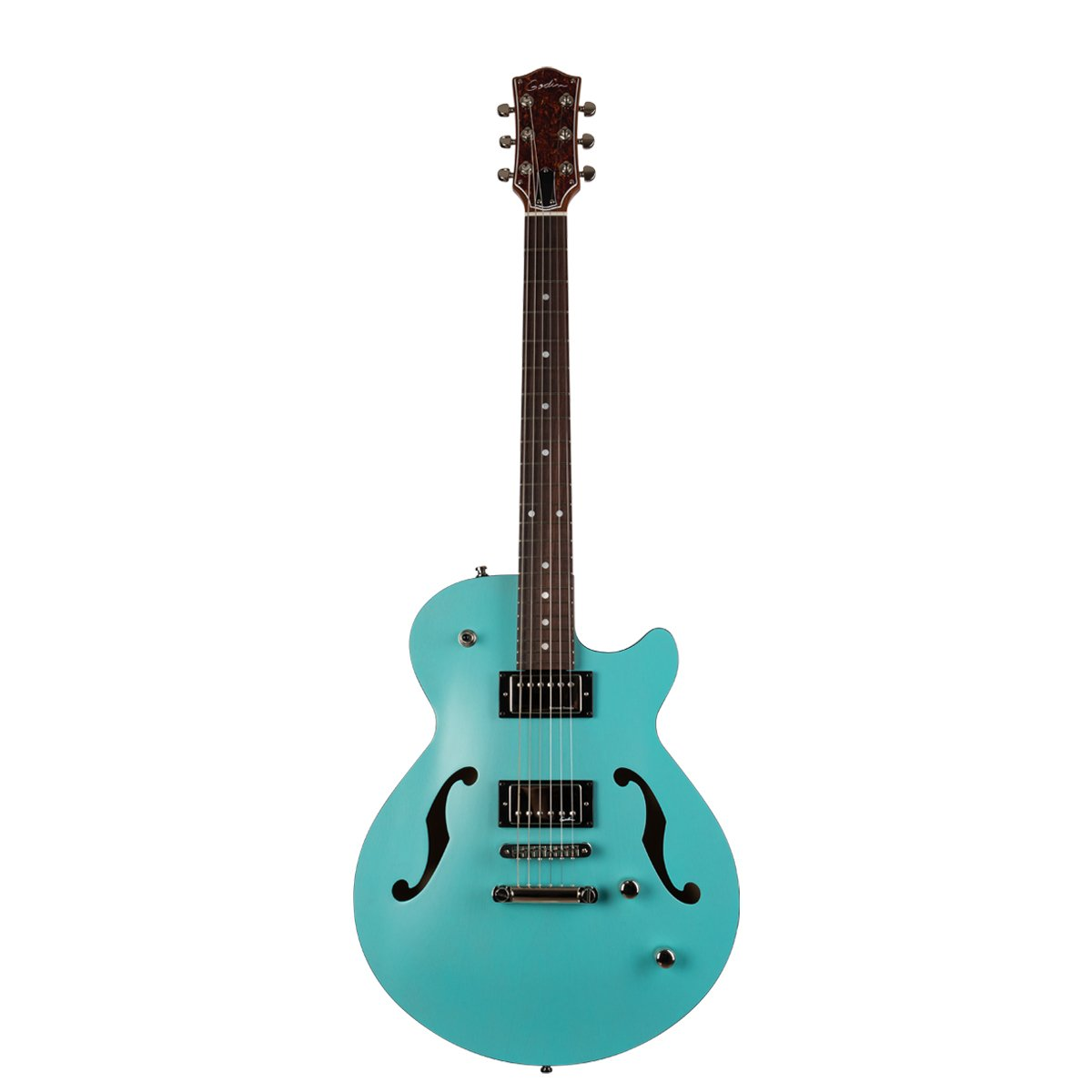 Factory Second Godin Montreal Premiere HT - Laguna Blue with Bag