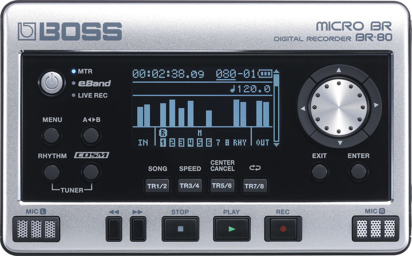 OPEN BOX - Boss BR-80 Digital Recorder