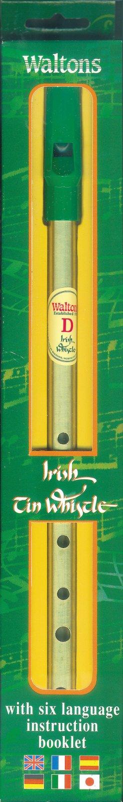 Walton Irish Tin Whistle Pack - Key of D