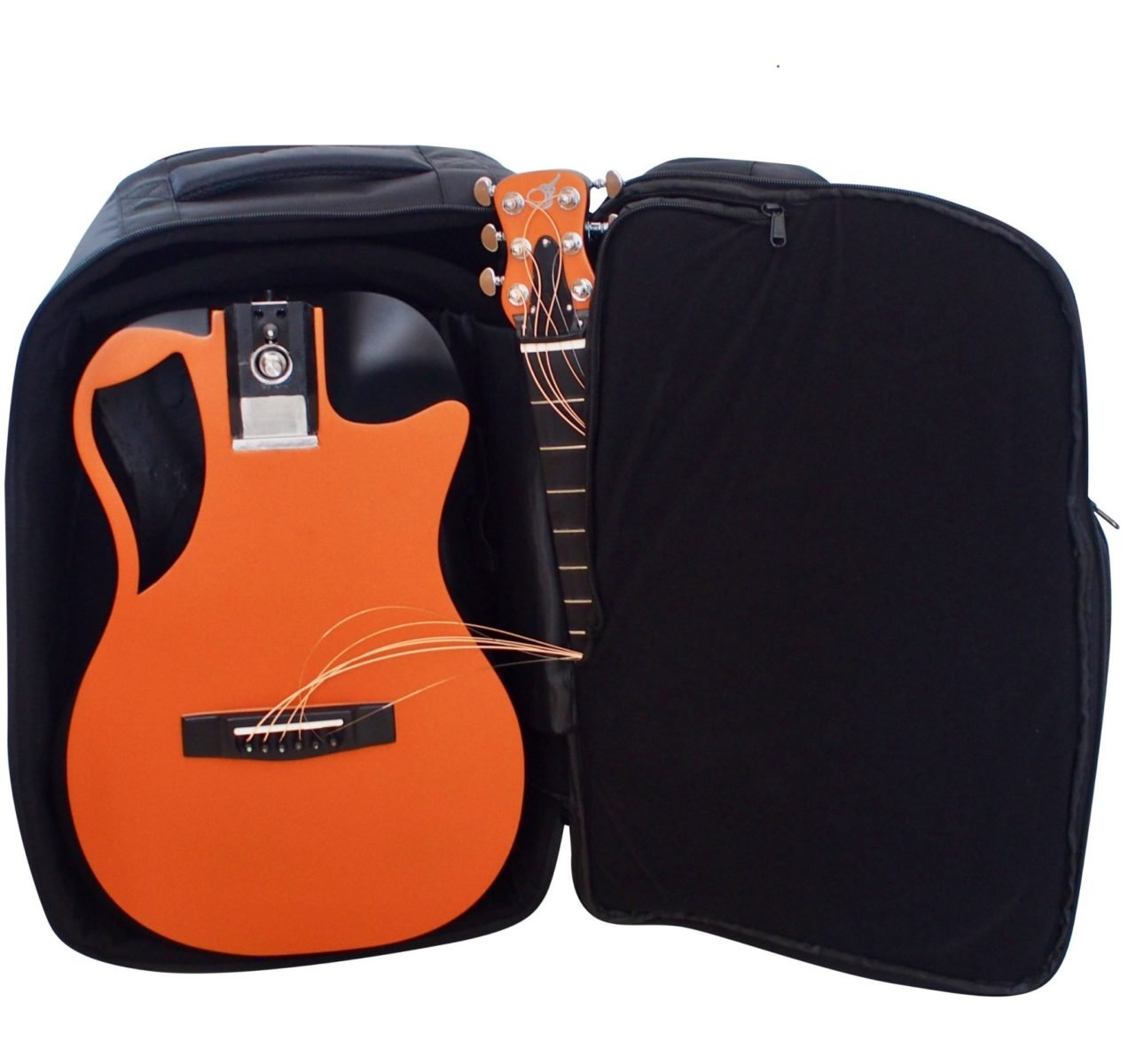 Journey Overhead Collapsible Carbon Orange Top Matte