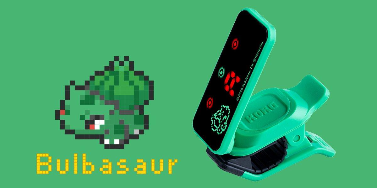 Korg PC-2 Pokemon Chromatic Tuners