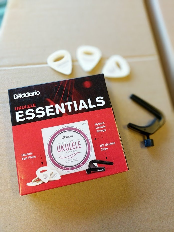 Ukulele Essentials Bundle