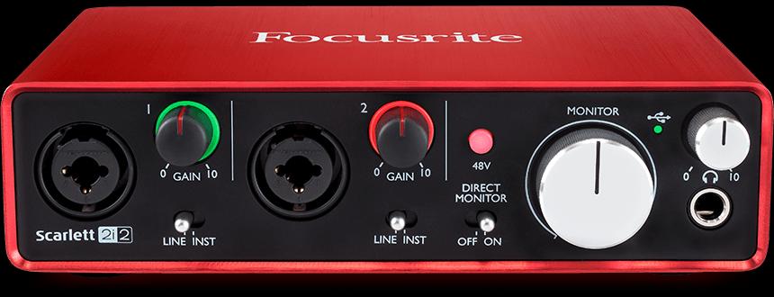 Focusrite Scarlett Interface 2i2 MK2