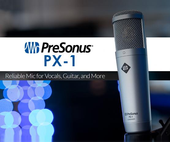 Presonus PX-1 Cardioid Condenser Microphone