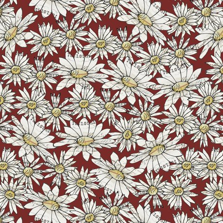 FARM LIFE PACKED DAISIES RED