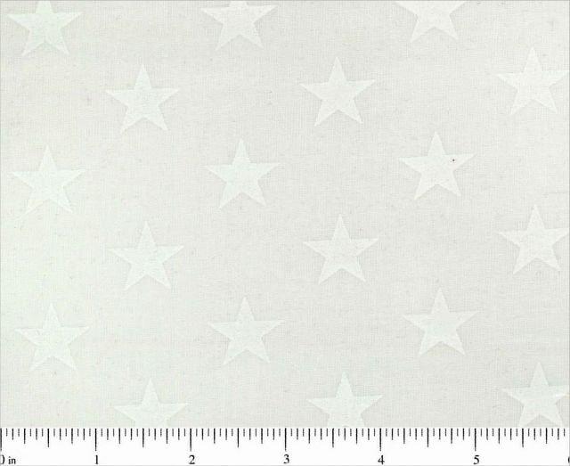 WHITE ON WHITE STARS