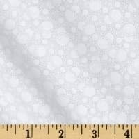WHITE ON WHITE BUBBLES & LINES
