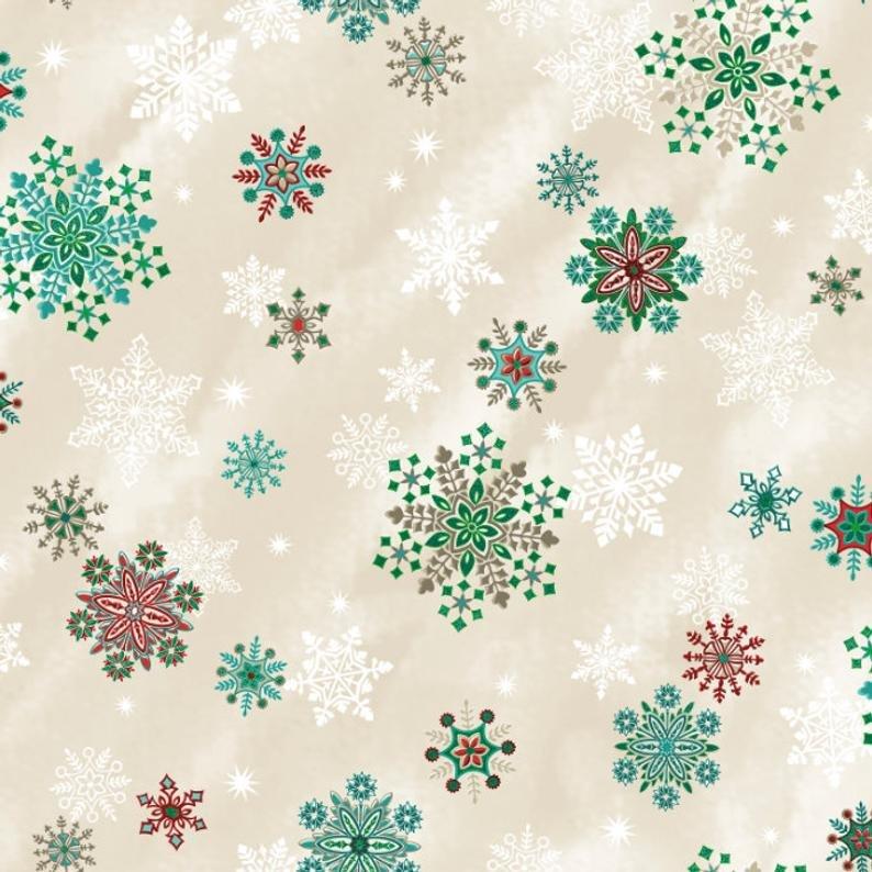 EVERGREEN SPARKLING SNOWFLAKE VANILLA