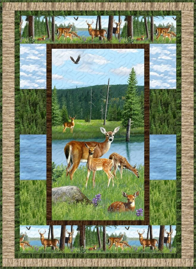 Oh Deer! Fabric Kit