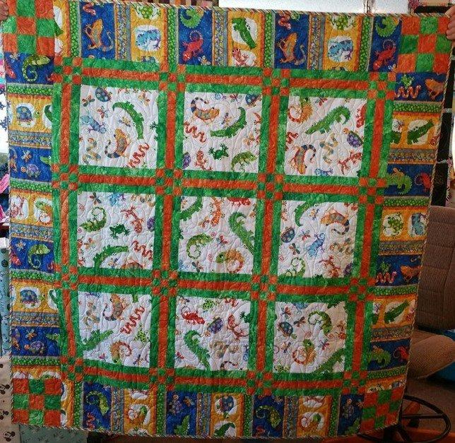 Reptile Ruckus Fabric Kit