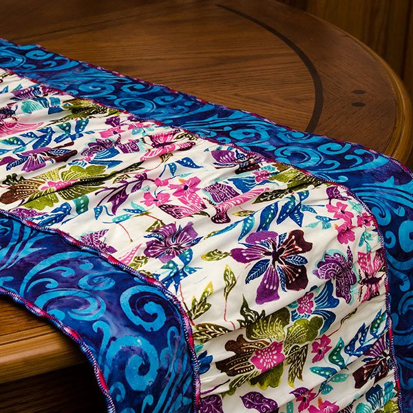 Brighten Up Your Dinner Table With This Ruffled Table Runner. This Project  Only Uses The Serger And Incorporates The Baby Lock Serger Wave Stitch!