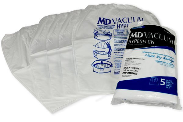 MD Central Vacuum HyperFlow Microfilter Bags - 5 Pack