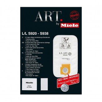 Miele L/L Art Replacement FilterBags - 5 Pack
