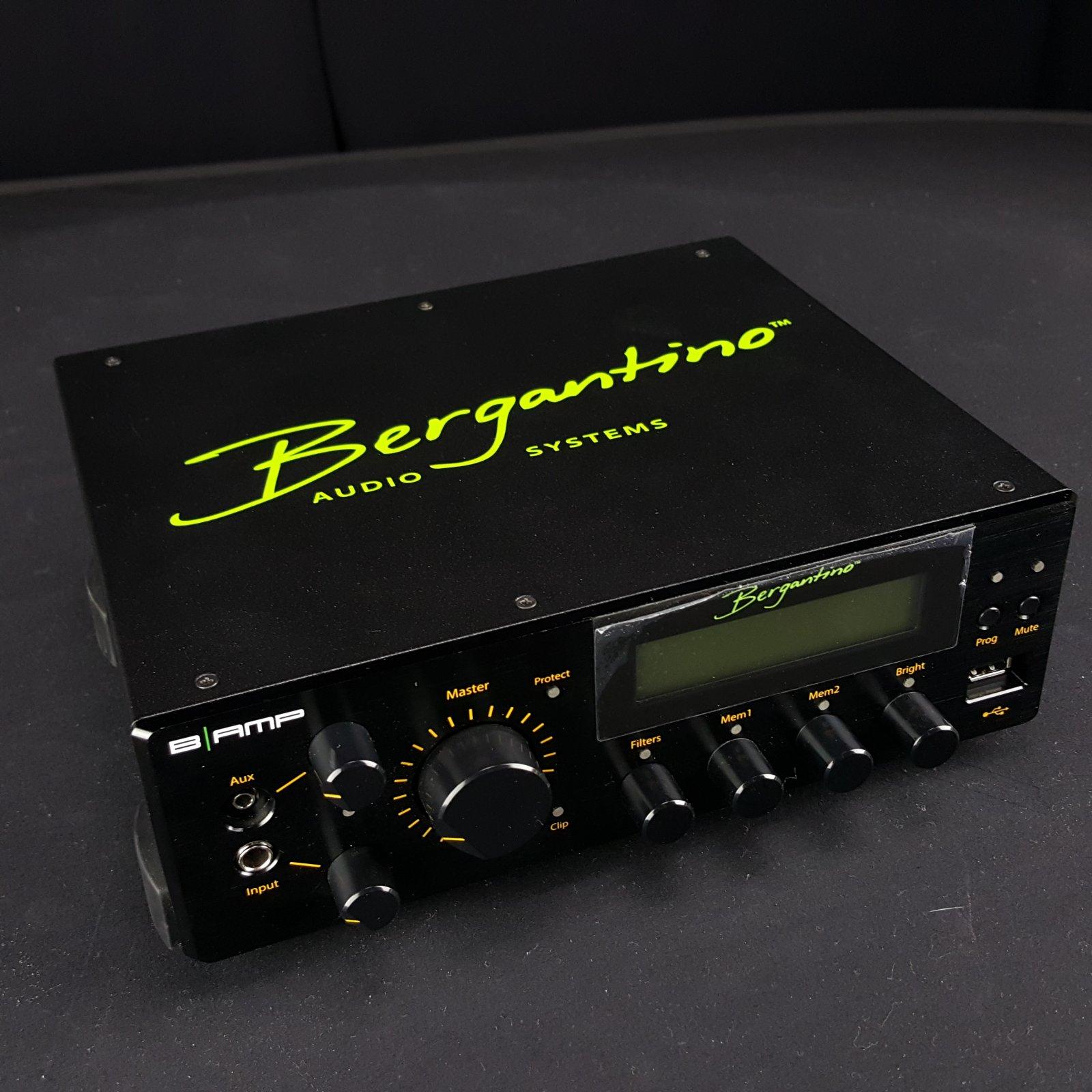 Bergantino B-Amp 700 Watt Digital Bass Amplifier Open Box