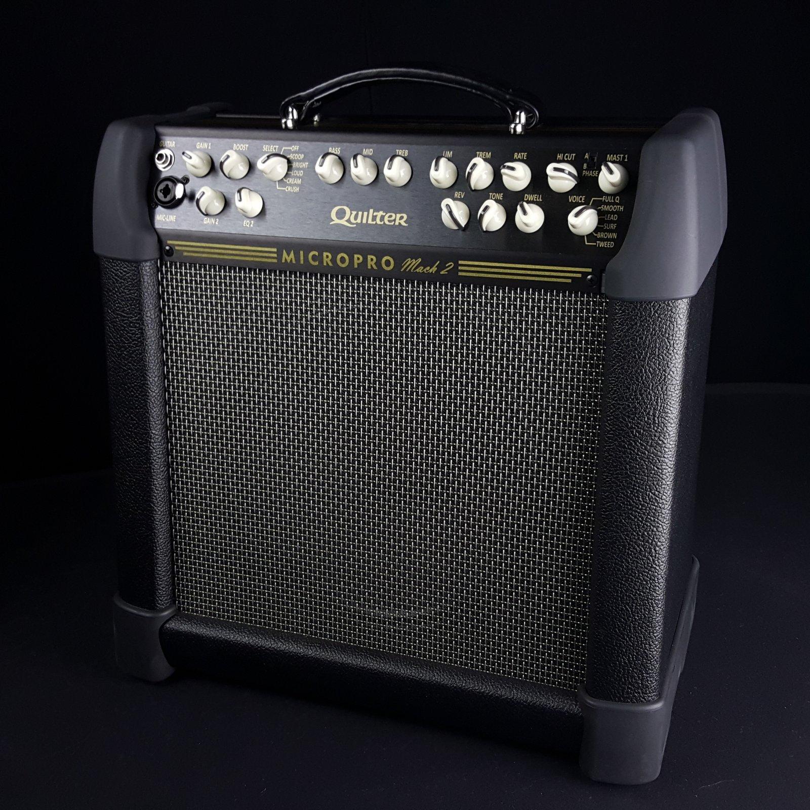 Quilter MicroPro 200 Mach 2 Combo Guitar Amplifier 12 Speaker