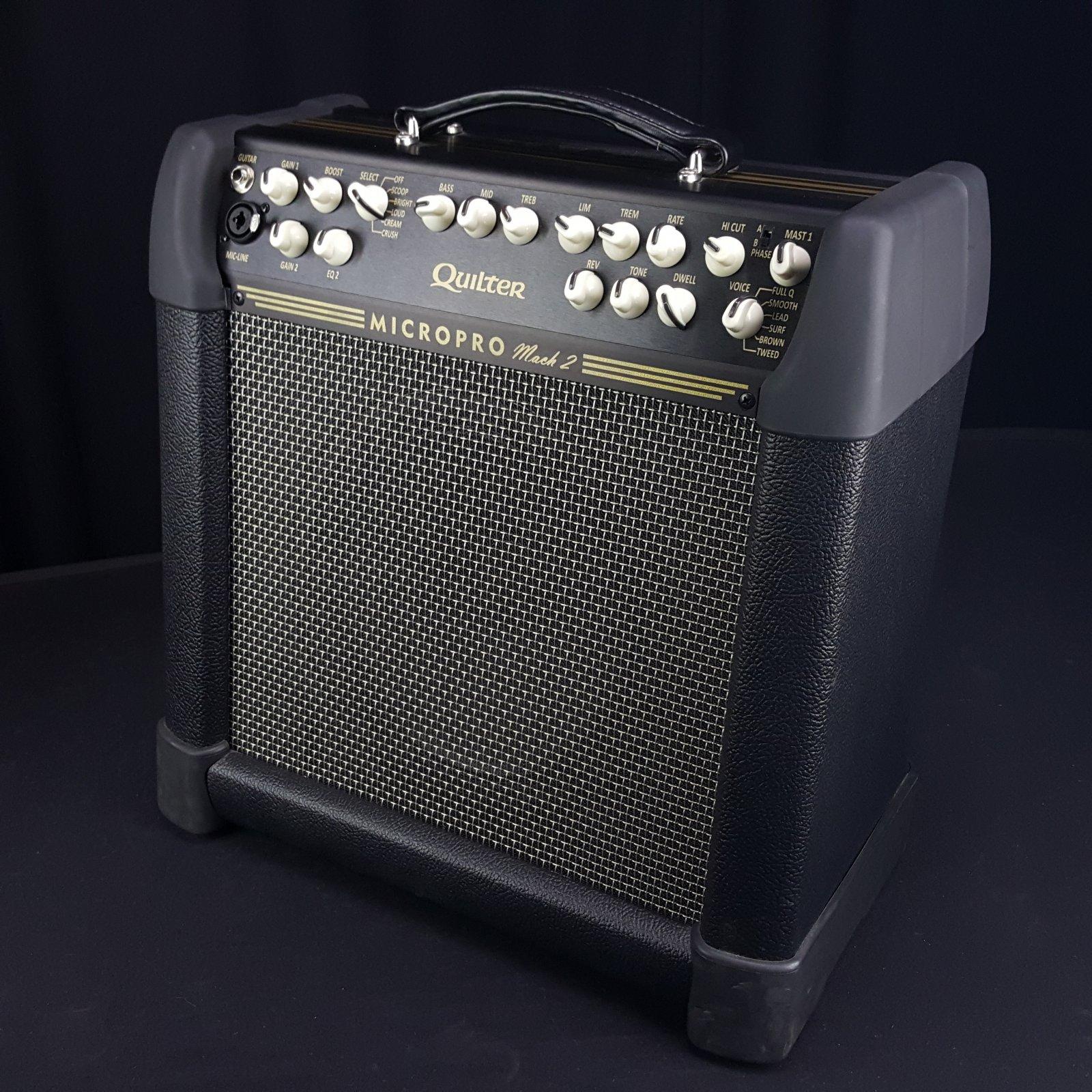 Quilter MicroPro 200 Mach 2 Combo Guitar Amplifier 10 Speaker