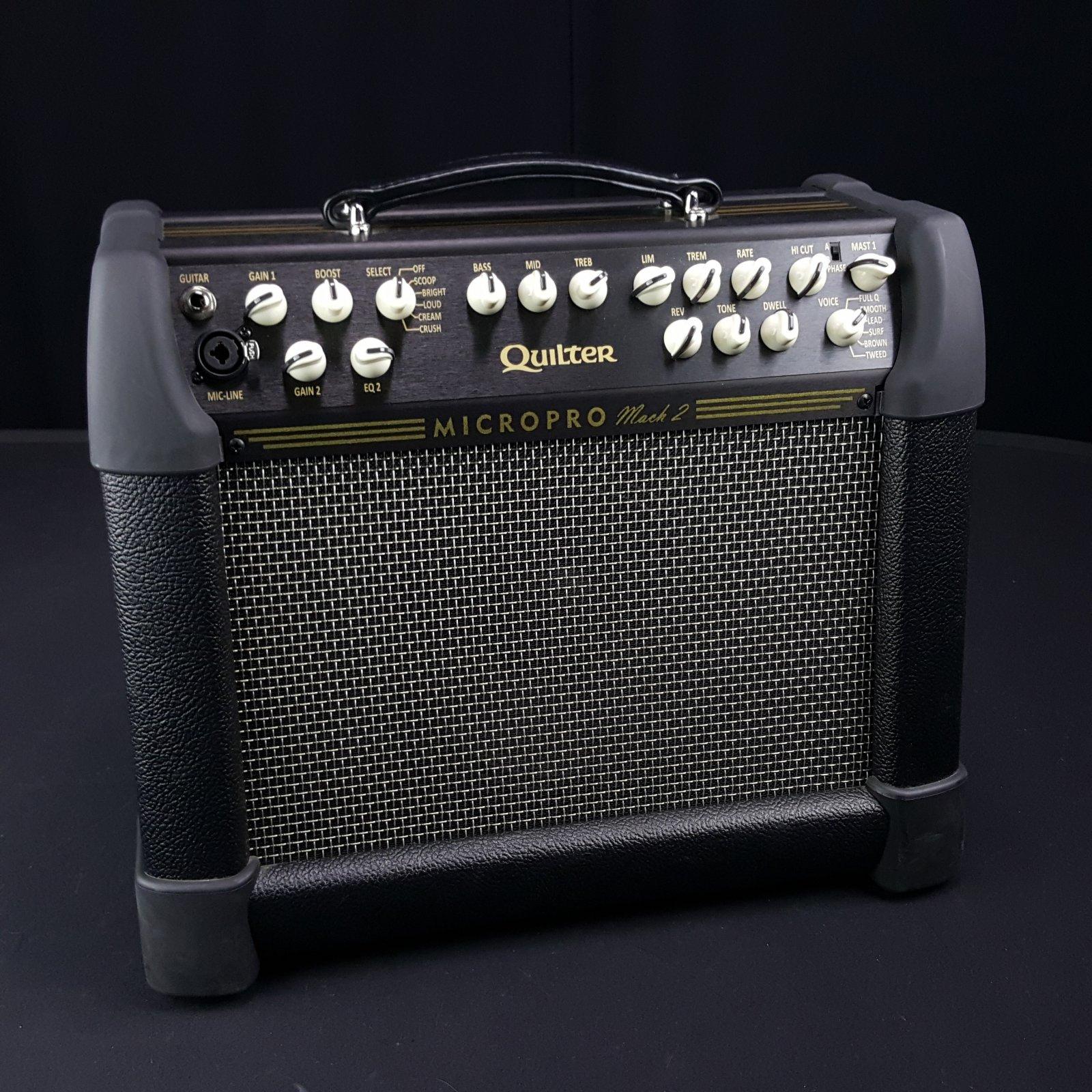 Quilter MicroPro 200 Mach 2 Combo Guitar Amplifier 8 Speaker