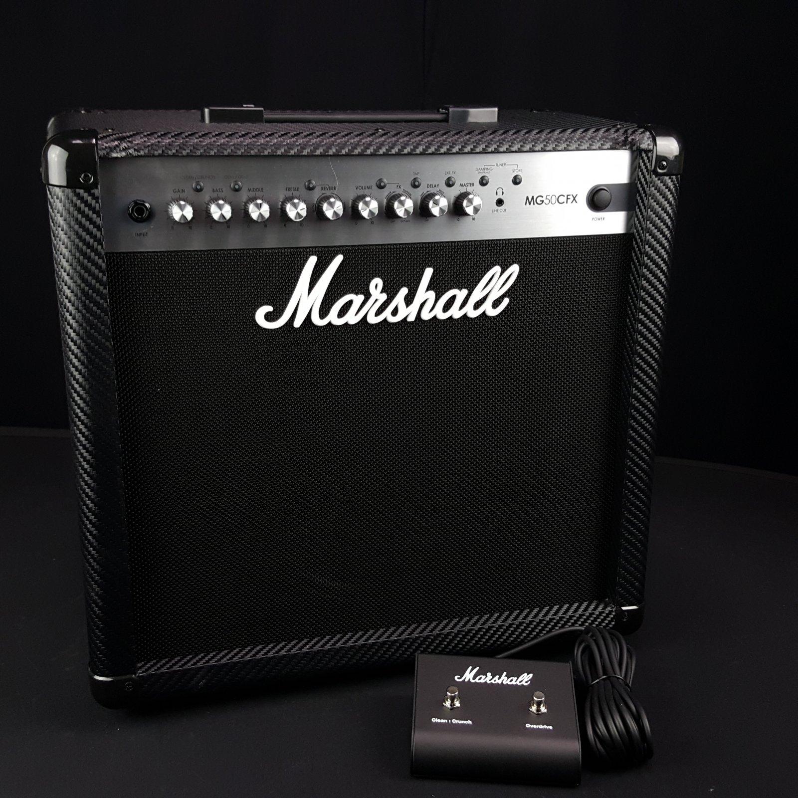 Marshall MG50CFX 12 Combo Guitar Amplifier