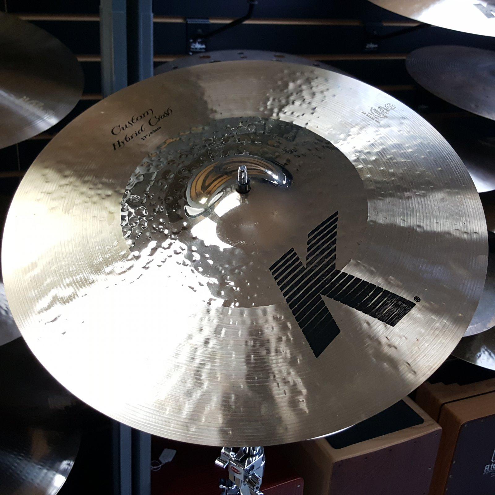 Zildjian 17 K Custom Hybrid Crash Cymbal 1349g