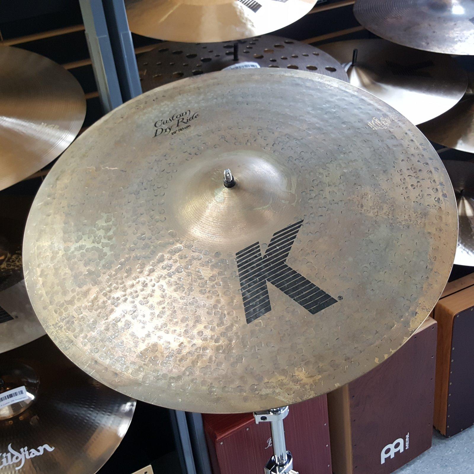 Zildjian 20 K Custom Dry Ride Cymbal 27973g
