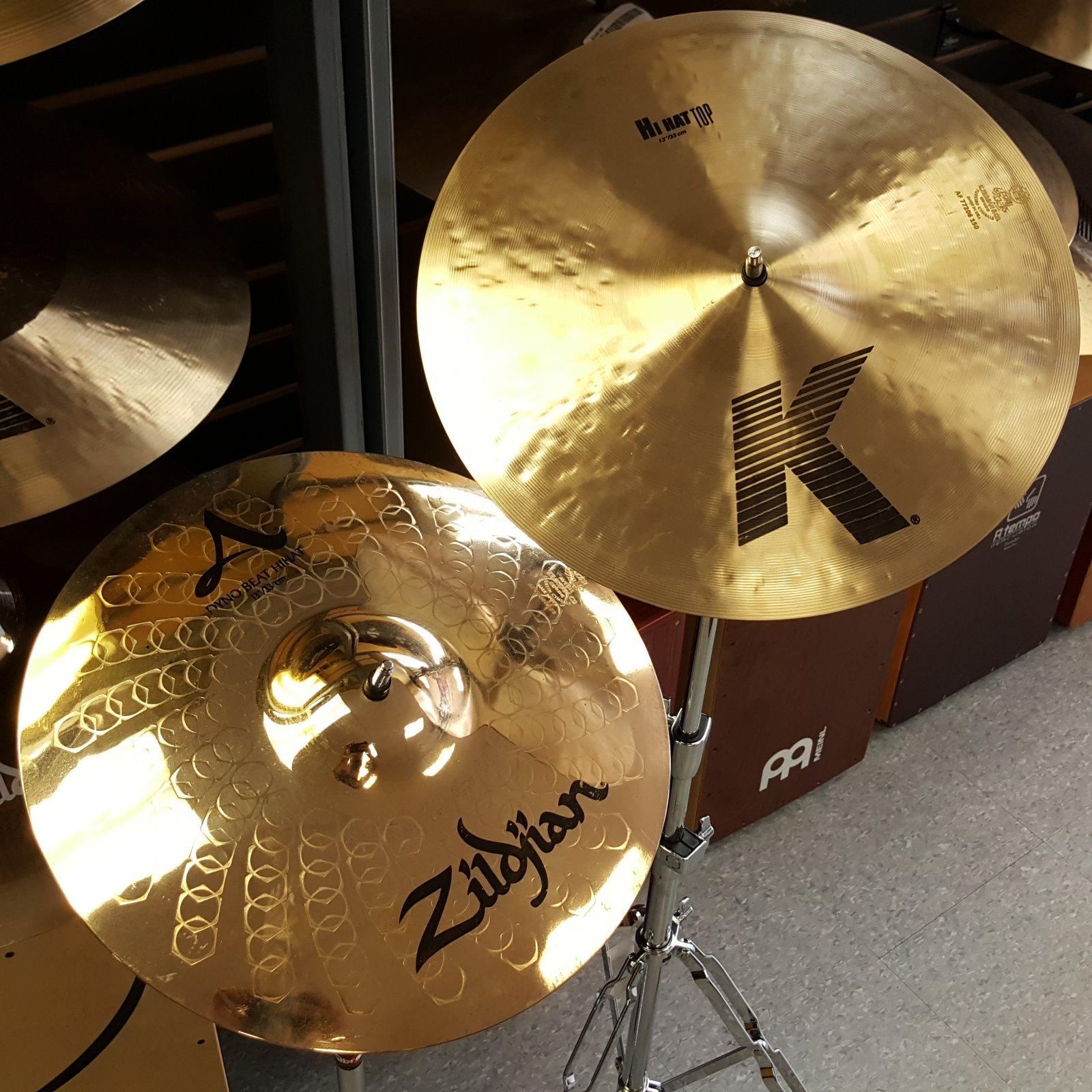 Zildjian 13 KZ K/Z Special Hihat Hi Hat Cymbal Pair K0829
