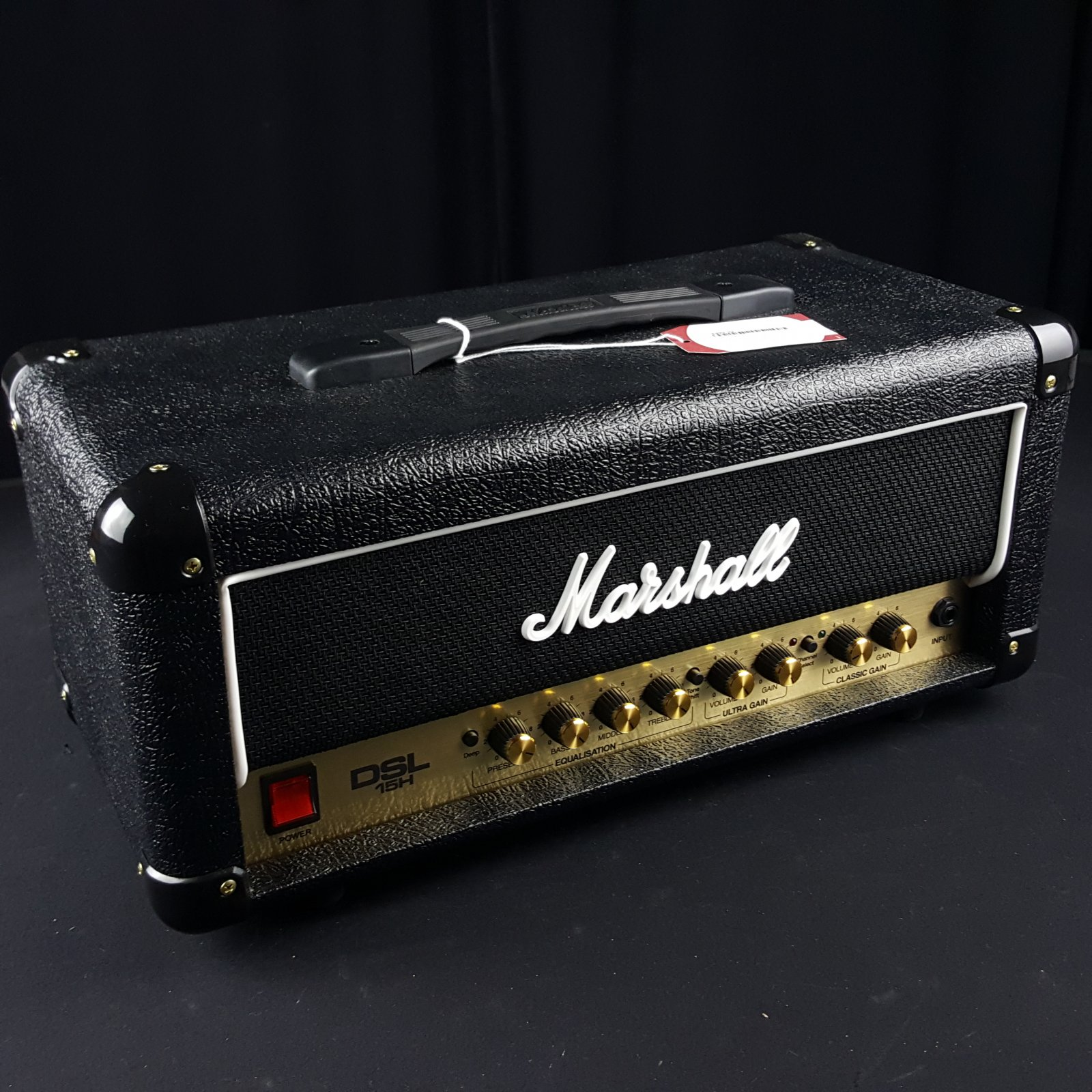 Marshall DSL15C 15 Watt All Tube 12 Guitar Amp Head