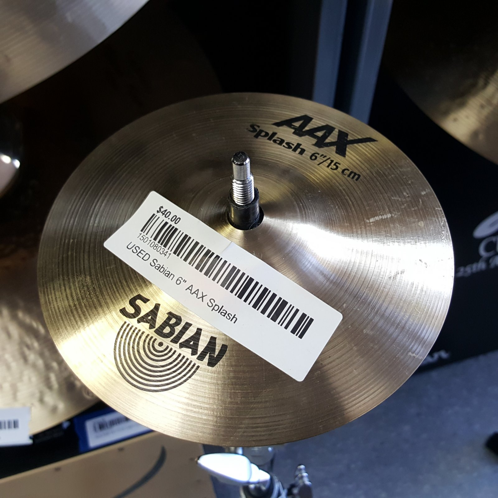 USED Sabian 6 AAX Splash