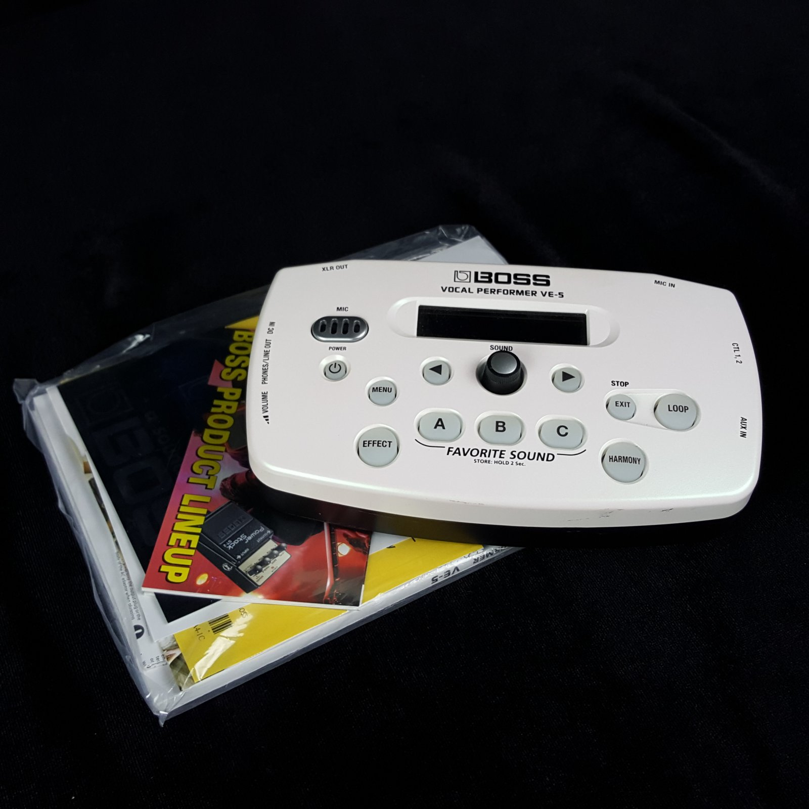 Boss VE-5-WH Vocal Processor White