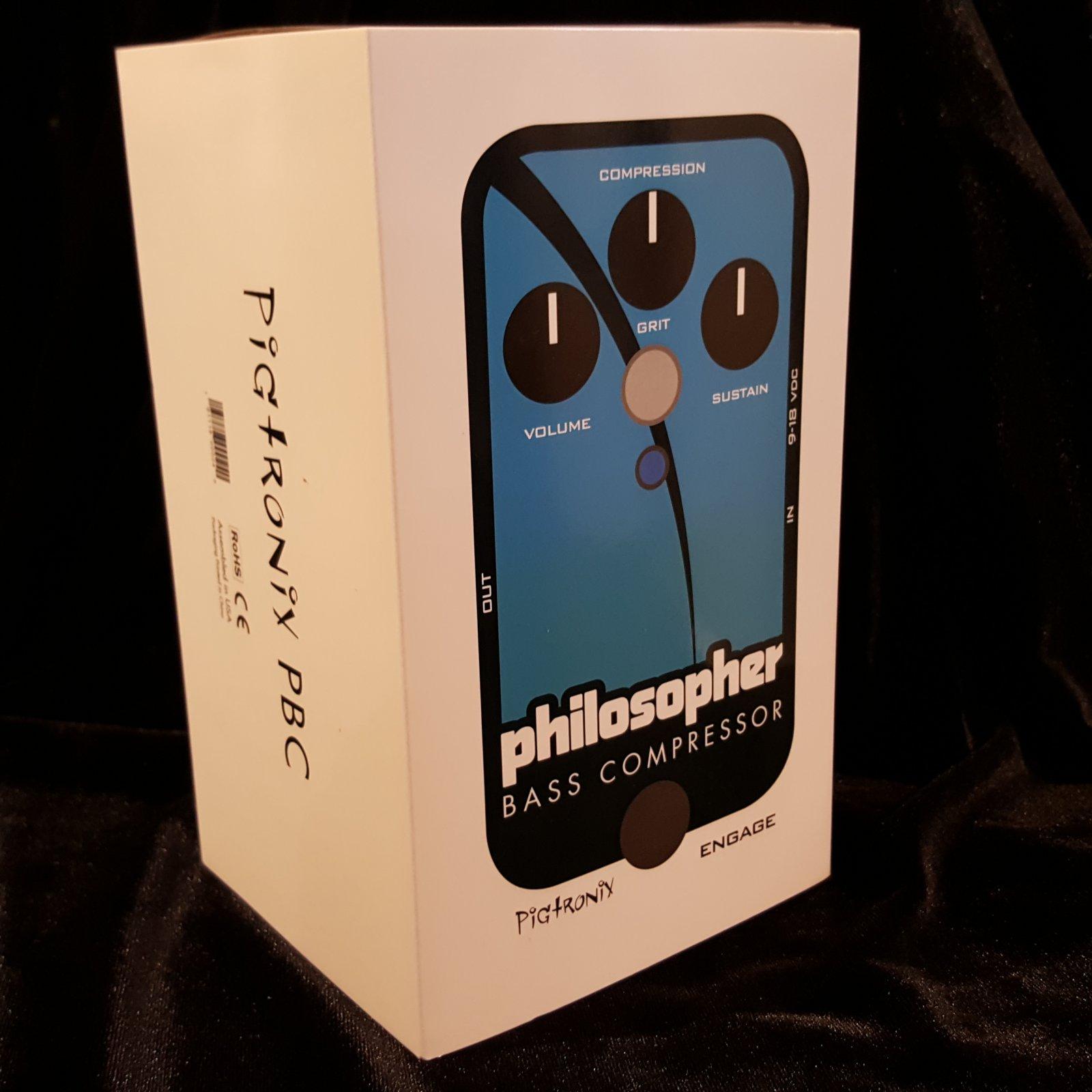 Pigtronix Philosopher Bass Compressor Pedal
