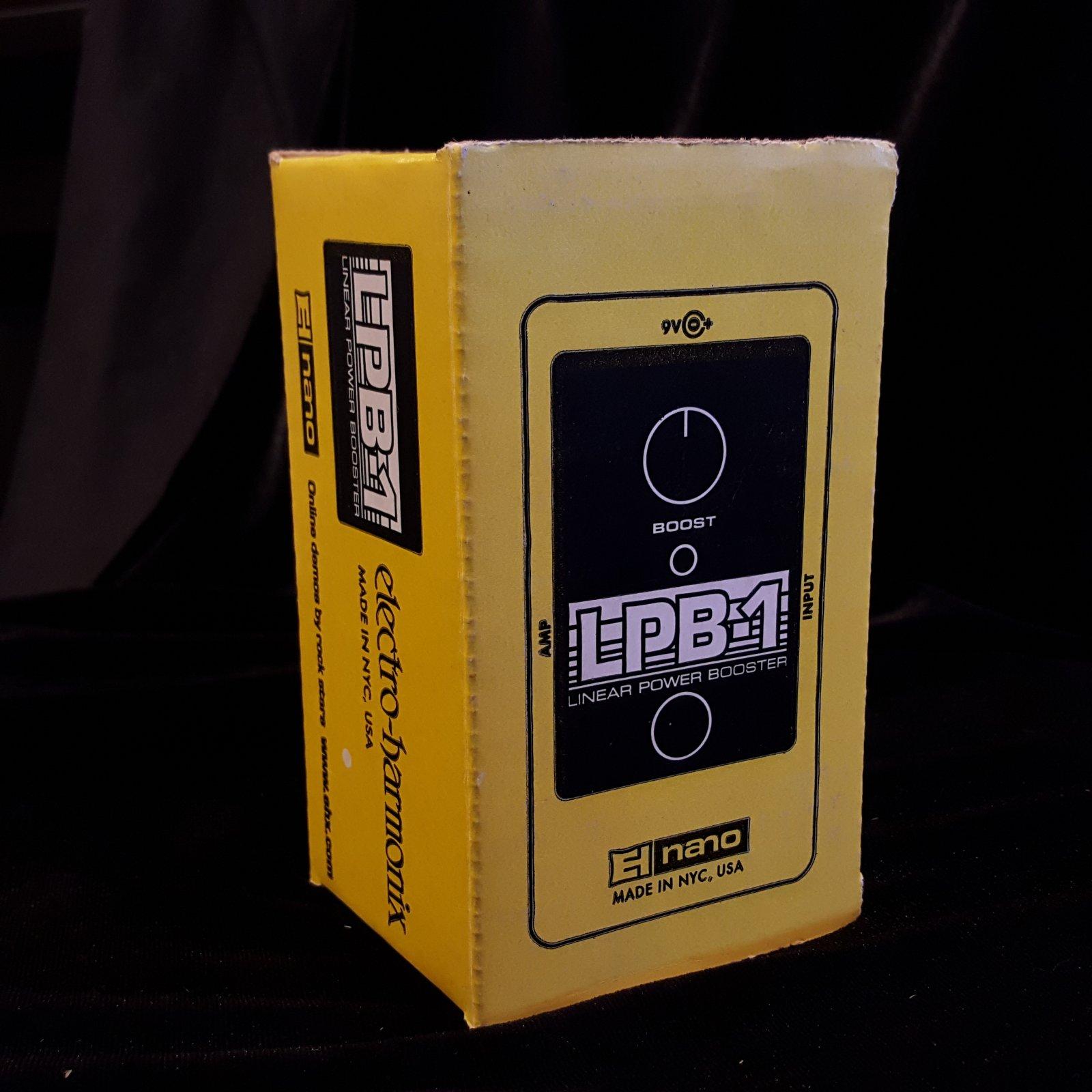 Electro Harmonix El Nano LBP-1 Linear Power Booster