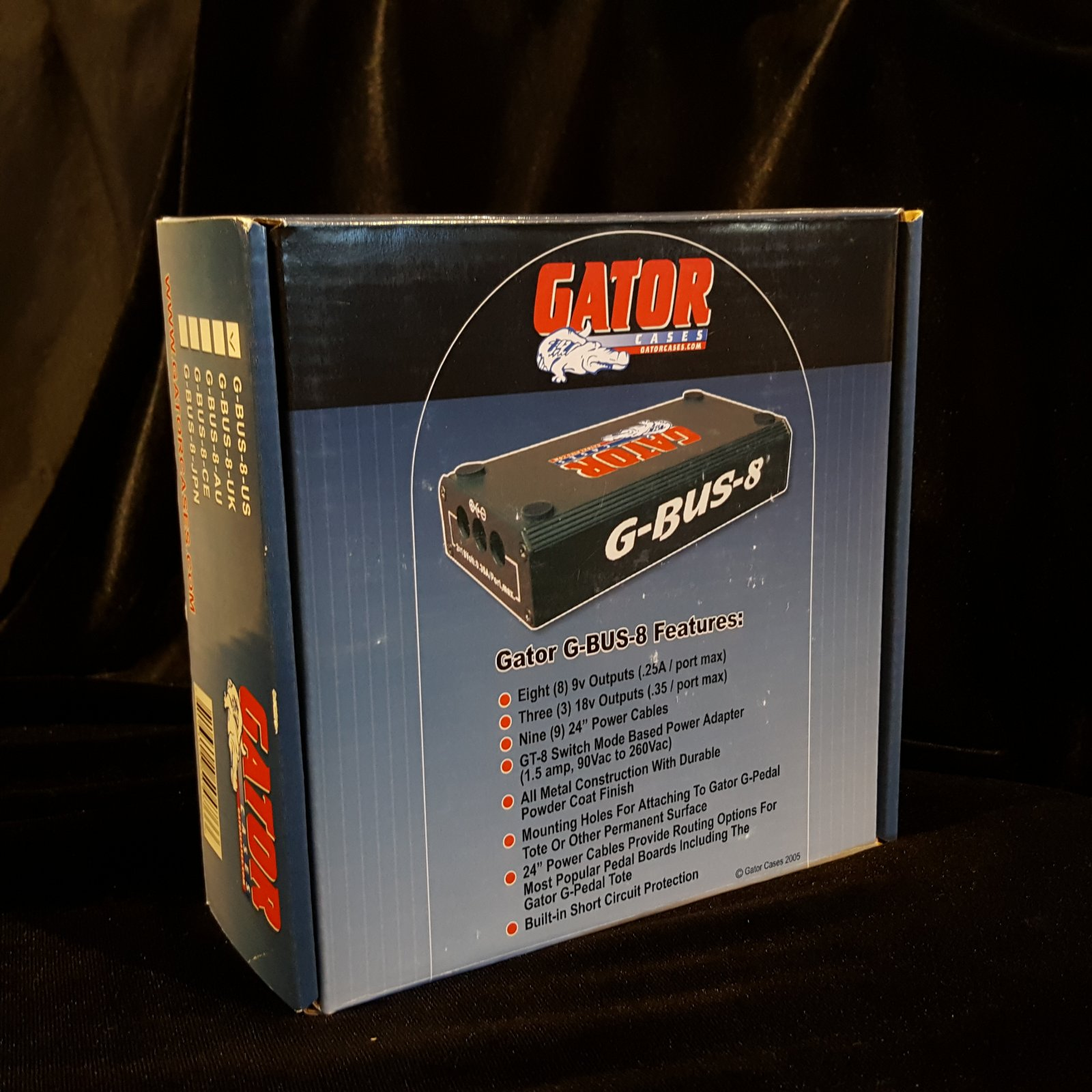 Gator G-BUS-8 9 and 18 Volt Power Supply