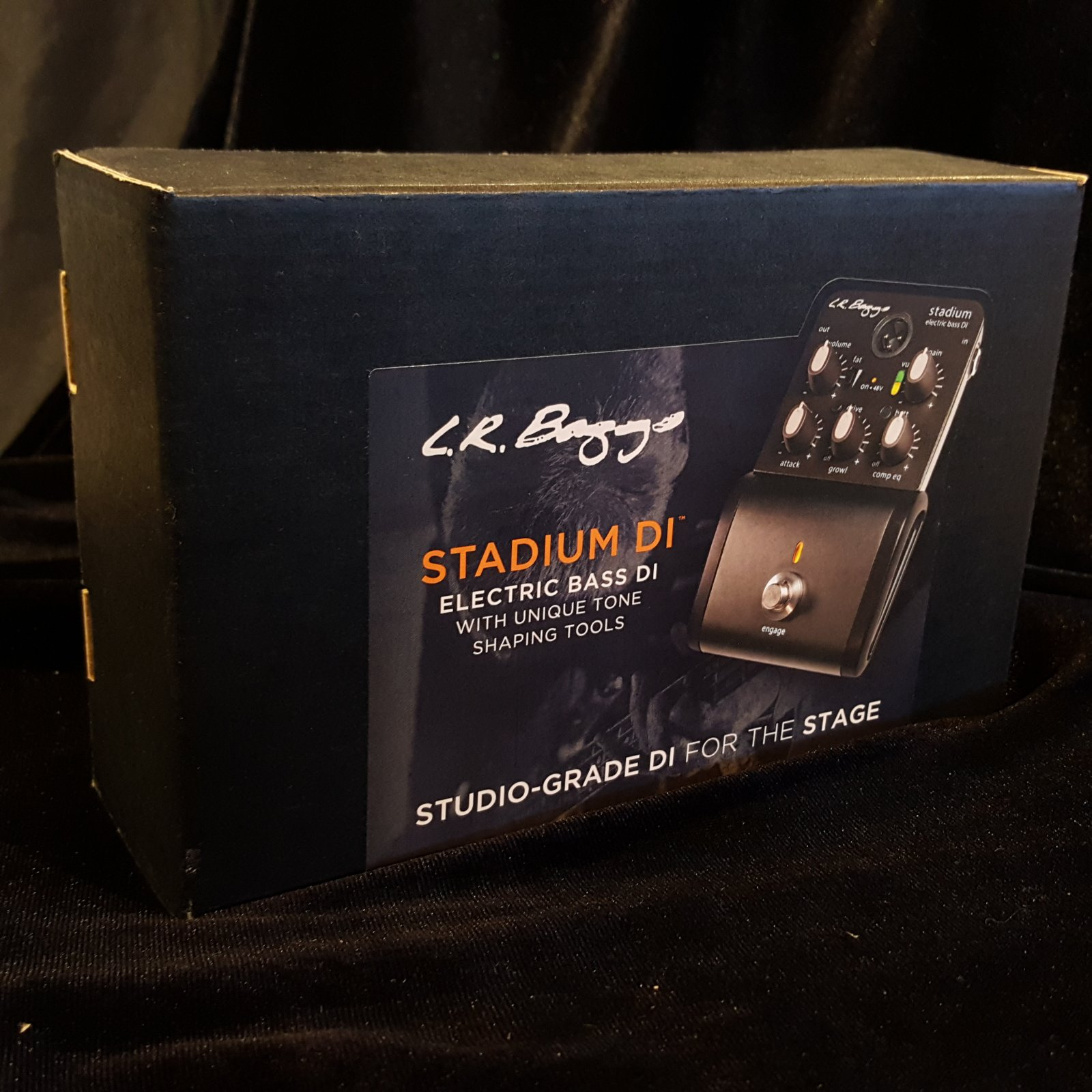 L.R. Baggs Stadium DI Electric Bass DI
